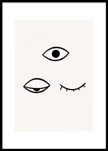 TIRED EYES POSTER