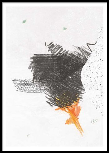 ABSTRACT COMPOSITION NO. 4 POSTER