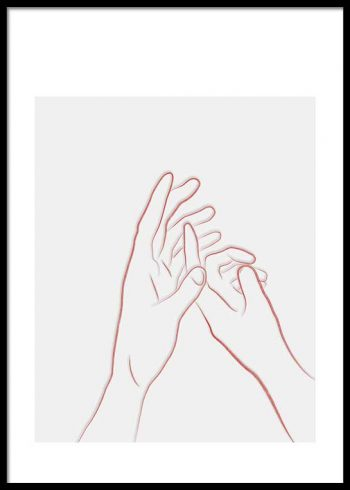 HOLDING HANDS NO. 2 POSTER