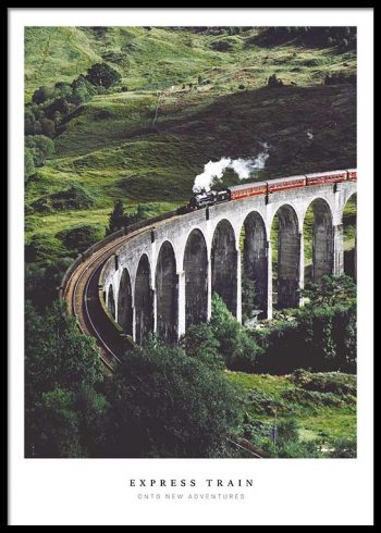 EXPRESS TRAIN POSTER