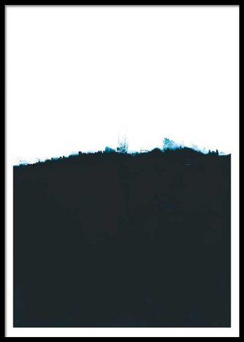 DARK BLUE SEA POSTER