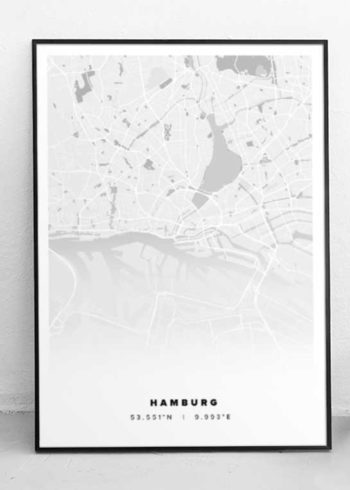 HAMBURG CITY POSTER