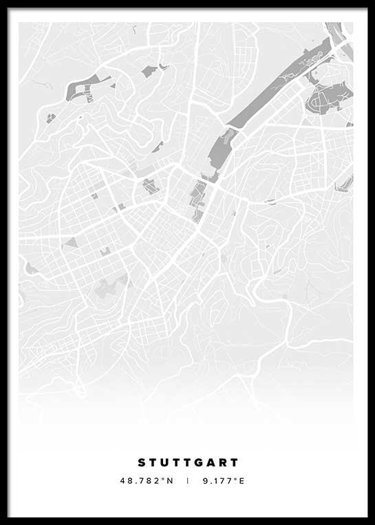 STUTTGART CITY POSTER