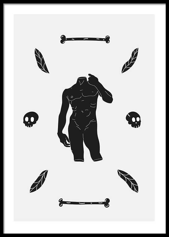 ANCIENT FOSSILS POSTER