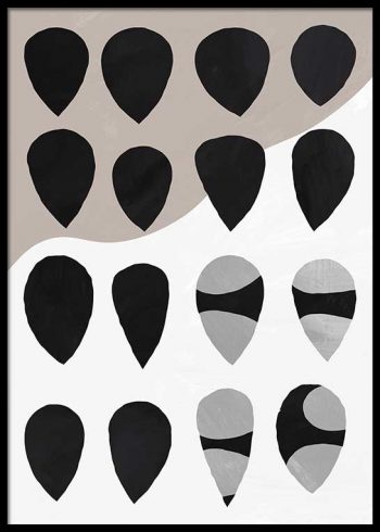ABSTRACT SHAPES NO. 1 POSTER