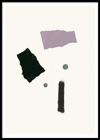 ABSTRACT COMPOSITION NO. 1 POSTER