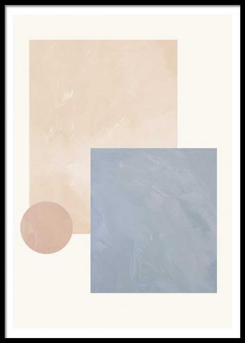 ABSTRACT COMPOSITION NO. 2 POSTER