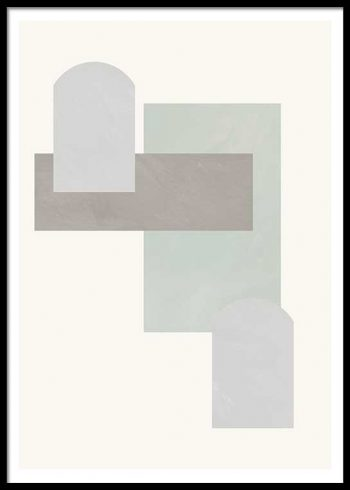 ABSTRACT COMPOSITION NO. 3 POSTER
