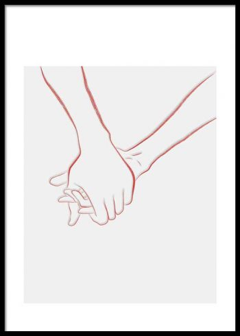 HOLDING HANDS NO. 3 POSTER