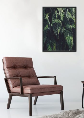 TROPIC LEAVES POSTER