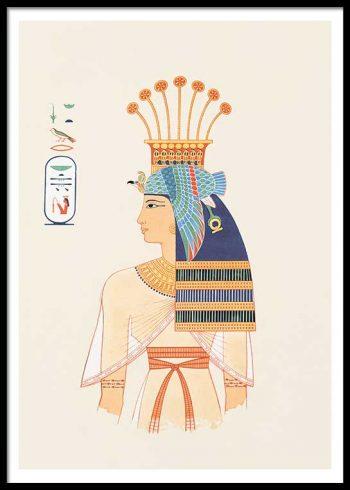 EGYPTIAN QUEEN NO. 1 POSTER