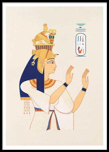 EGYPTIAN QUEEN NO. 2 POSTER