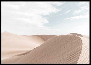 DESERT DUNES NO. 1 POSTER