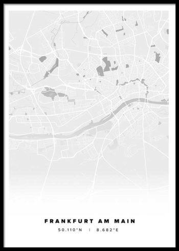FRANKFURT CITY POSTER
