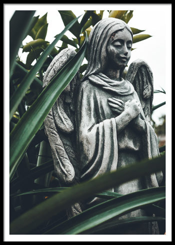 STATUE GREENERY POSTER